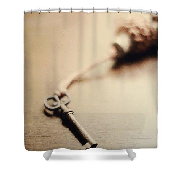 A Key... Shower Curtain