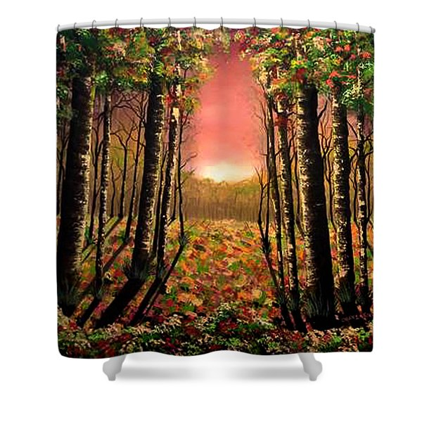 A Kiss Of Life Shower Curtain