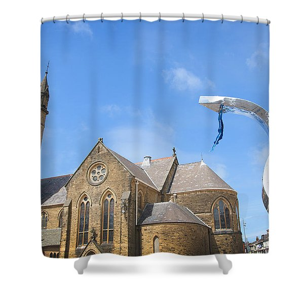 A Leap Of Faith Shower Curtain