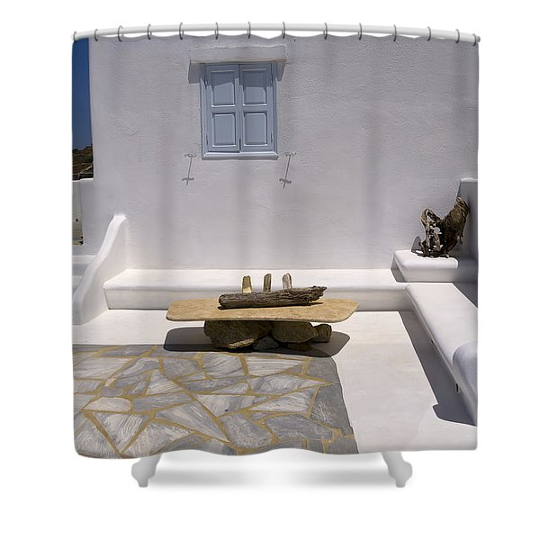 A Lovely Quiet Place To Sit  Shower Curtain