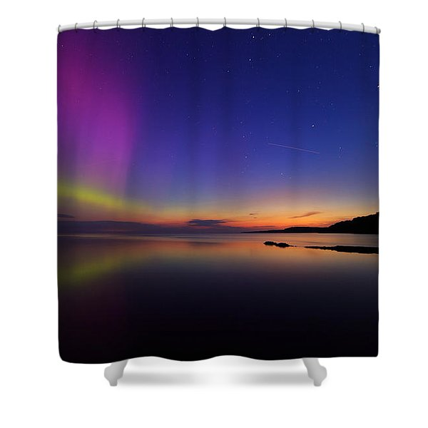 A Majestic Sky Shower Curtain