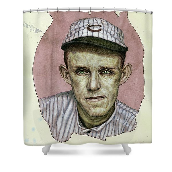 A Man Who Used To Be A Player Shower Curtain