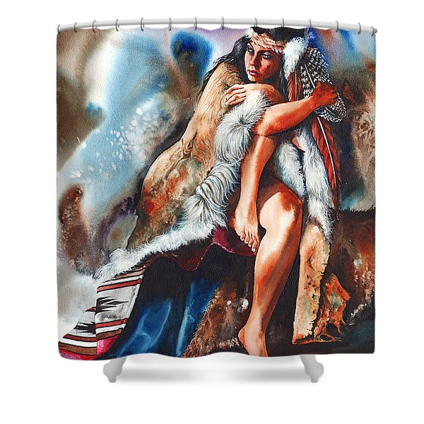 A Million Miles Away Shower Curtain