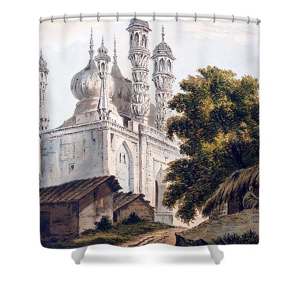 A Mosque At Gazipoor Shower Curtain