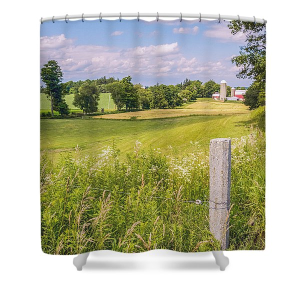 A Nation's Bread Basket  Shower Curtain