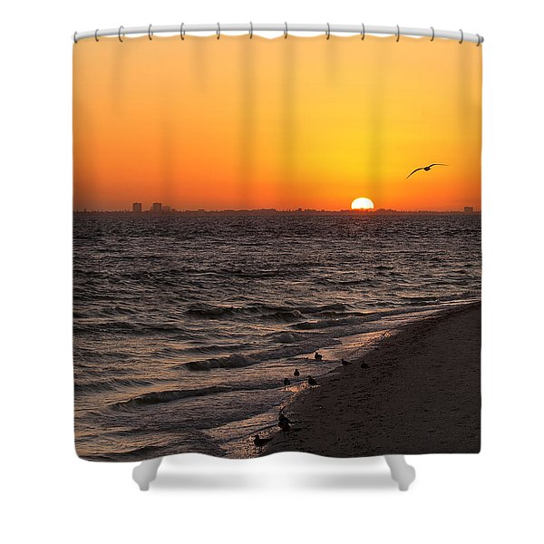 A New Day - Sanibel Island Shower Curtain