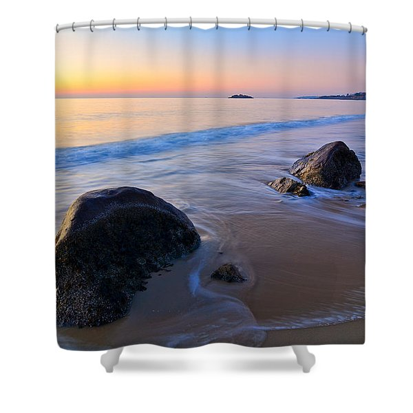 A New Day Singing Beach Shower Curtain