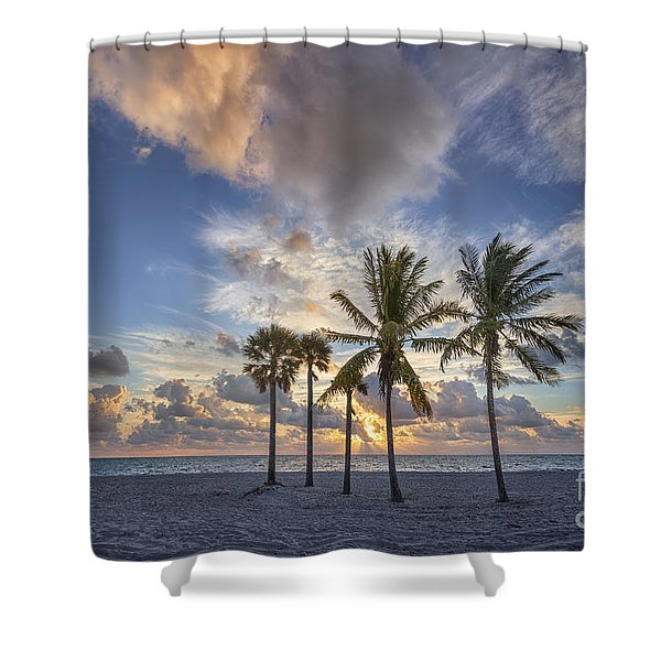 A New Tomorrow Shower Curtain