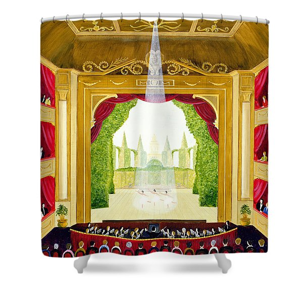A Night At The Ballet Shower Curtain
