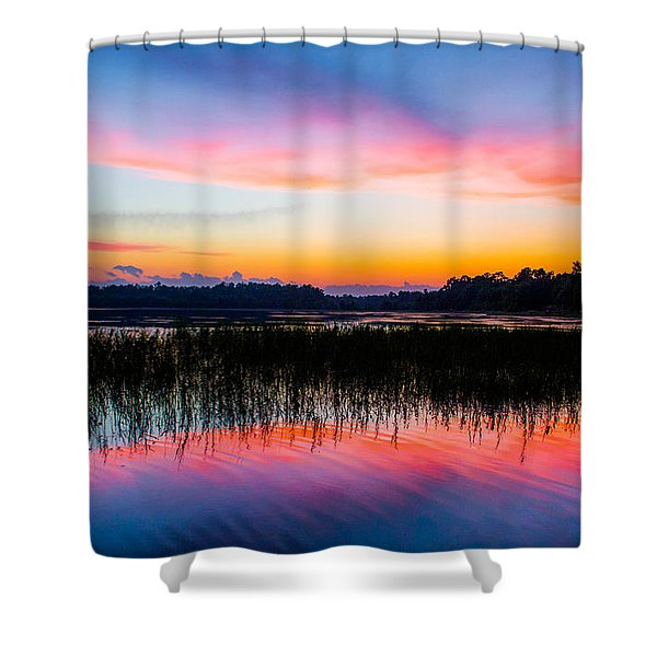 A Palette Of Colors Shower Curtain