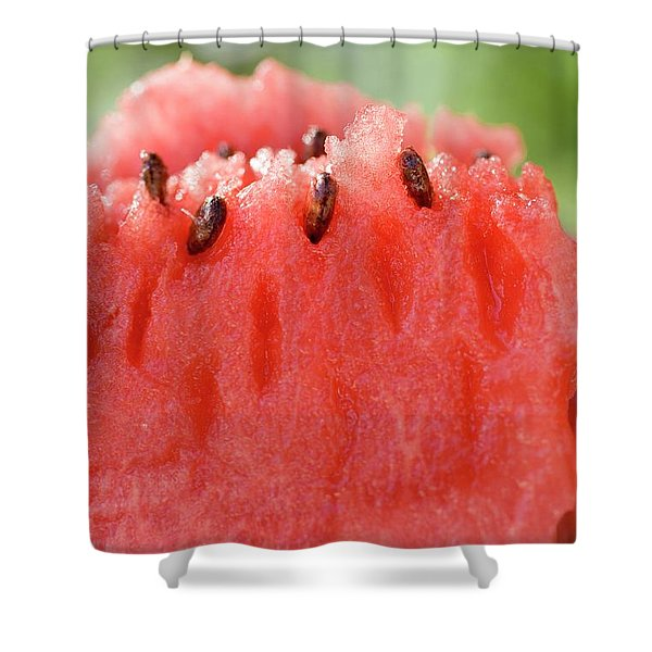 A Piece Of Watermelon Shower Curtain