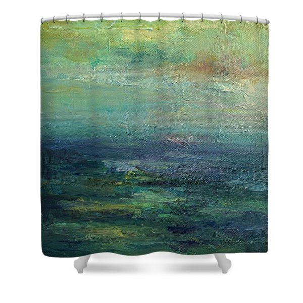 A Place For Peace Shower Curtain