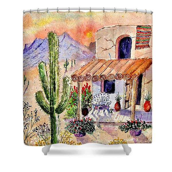 A Place Of My Own Shower Curtain