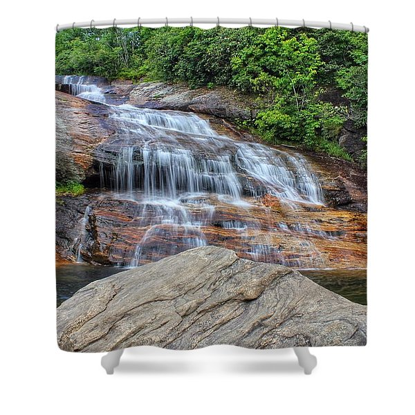 A Place To Cool Off Shower Curtain