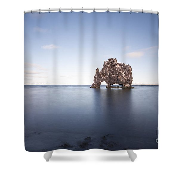 A Sea Of Thirst Shower Curtain