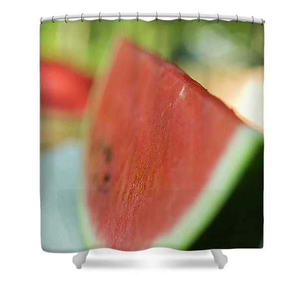 A Slice Of Watermelon Shower Curtain