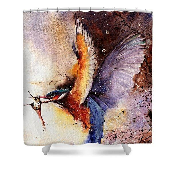 A Splash Of Colour Shower Curtain