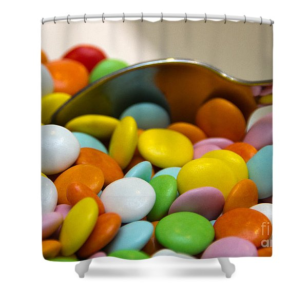 A Spoonful Of Candy Shower Curtain