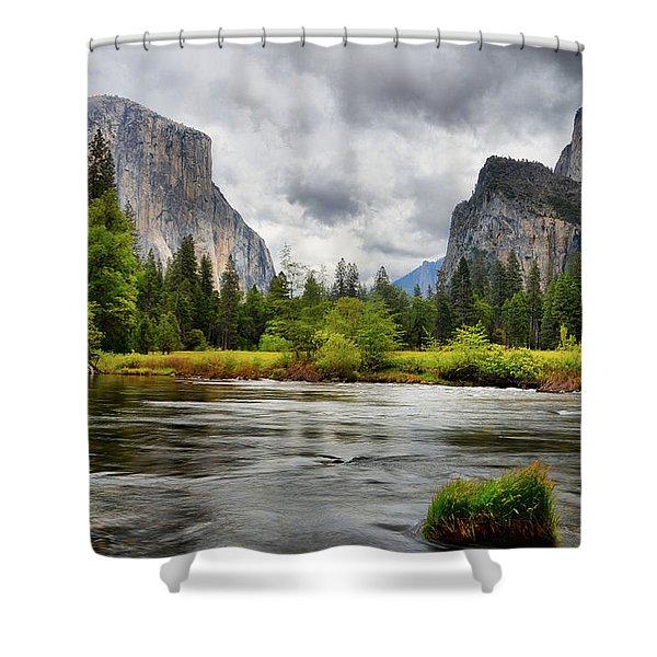 A Storm Draws Near  Shower Curtain