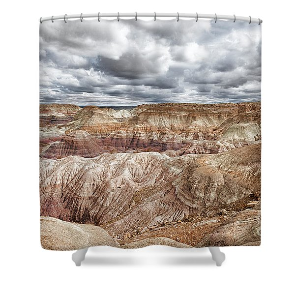 A Storm Is Brewing Shower Curtain