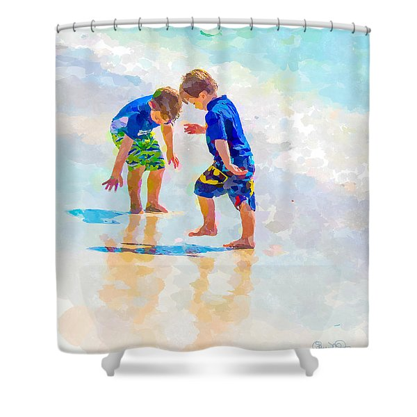 A Summer To Remember Iv Shower Curtain