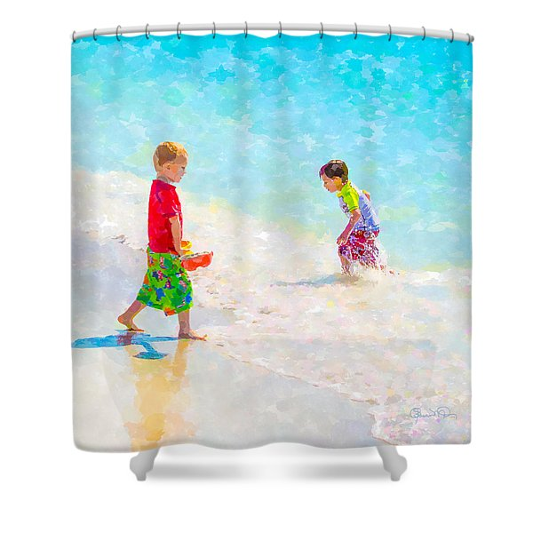 A Summer To Remember V Shower Curtain