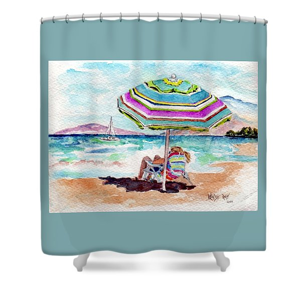 A Sweet Day In Maui Shower Curtain