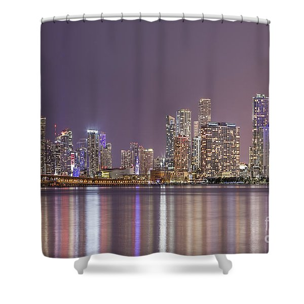 A Thousand Lights In The City Shower Curtain