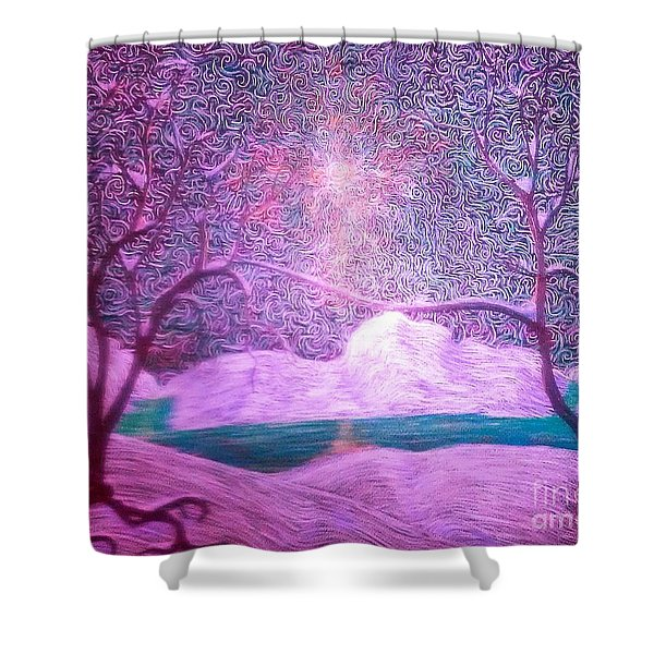 A Touch Of Love Shower Curtain