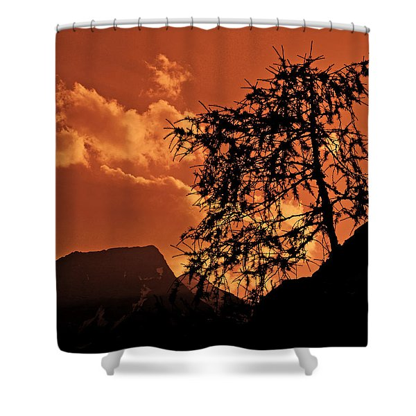 A Tranquil Moment Shower Curtain