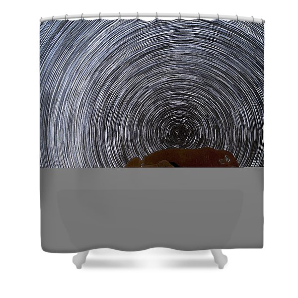 A Trip Back In History Shower Curtain