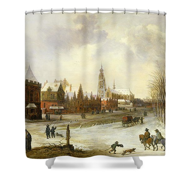 A View Of Breda Shower Curtain