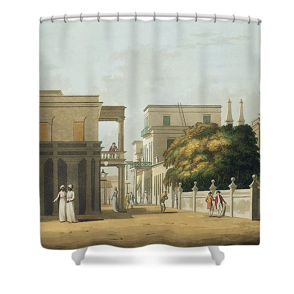 A View Of Part Of St. Thome Street Shower Curtain