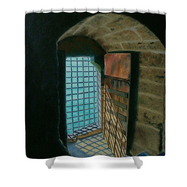 A View To Freedom Shower Curtain