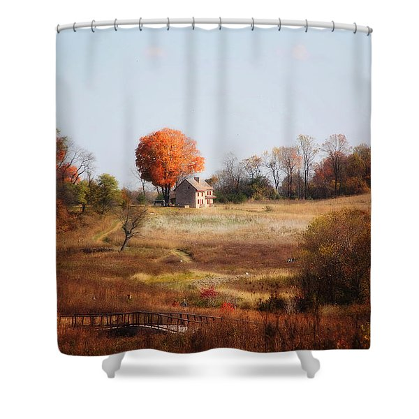 A Walk In The Meadow Shower Curtain