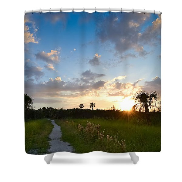 A Walk With You... Shower Curtain