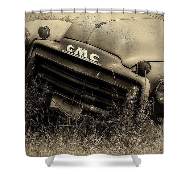A Weather-beaten Classic Shower Curtain