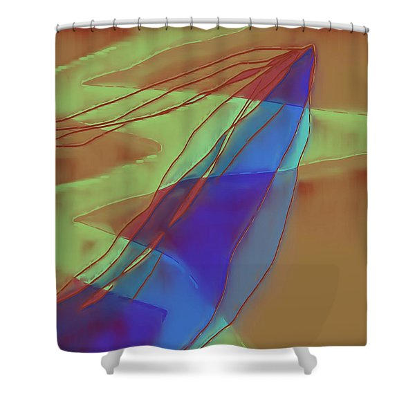 A Well Used Slate Shower Curtain
