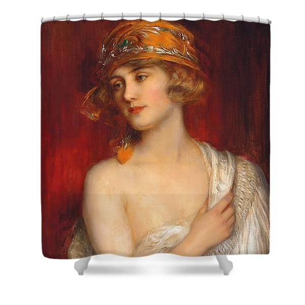 A Young Beauty Shower Curtain