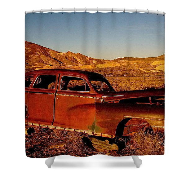 Abandoned And Forgotten Shower Curtain