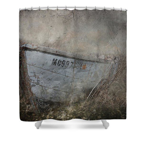 Abandoned On Sugar Island Michigan Shower Curtain