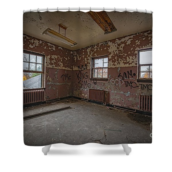 Abandoned Room At Letchworth Shower Curtain