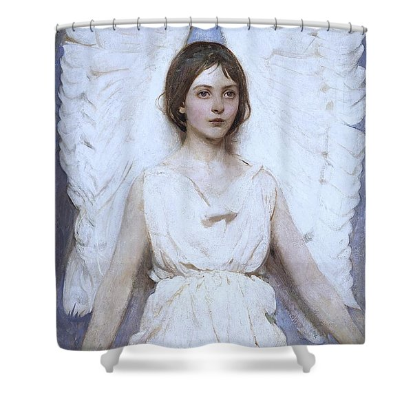 Abbott Handerson Thayer Angel 1886 Shower Curtain