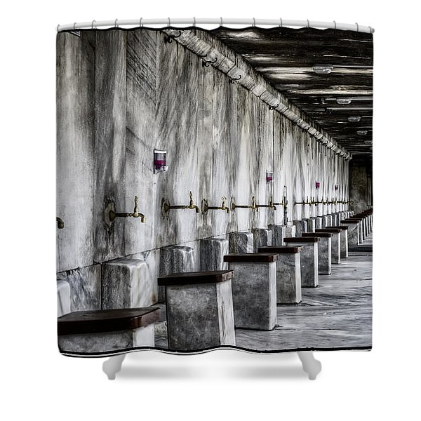 Ablutions Shower Curtain
