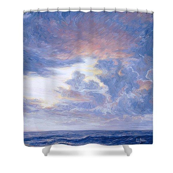 Above The Horizon Shower Curtain
