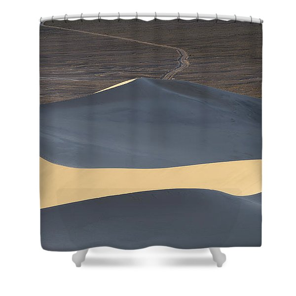 Above The Road Shower Curtain