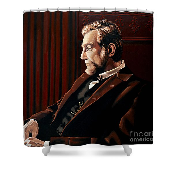 Abraham Lincoln By Daniel Day-lewis Shower Curtain