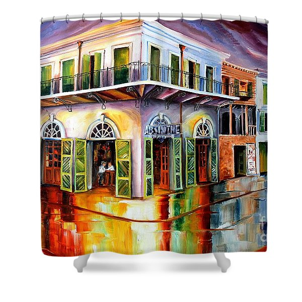 Absinthe House New Orleans Shower Curtain