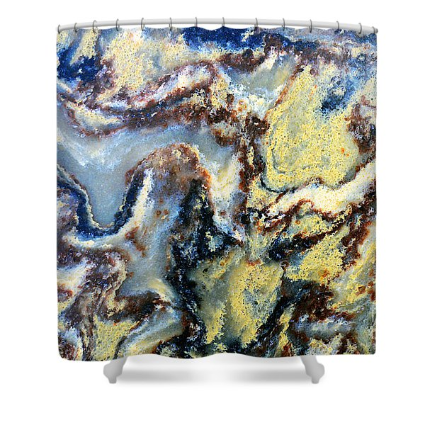 Patterns In Stone - 95 Shower Curtain