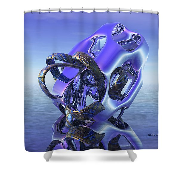 Abstract 333 Shower Curtain